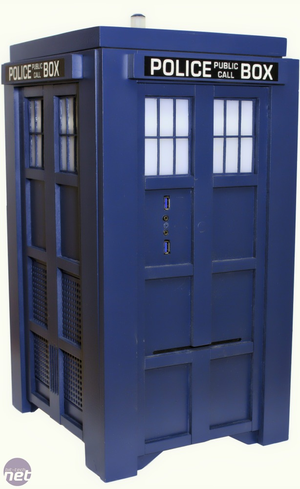 Mod of the Year 2013 TARDIS Gaming Computer by RebootTech