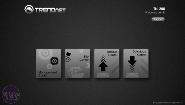 TRENDnet TN-200 NAS Box Review TRENDnet TN-200 NAS Box Review - Operating System