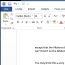 Why the Microsoft Office Ribbon is still rubbish