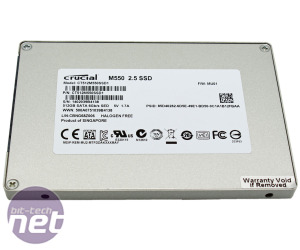 Crucial M550 SSD 512GB Review
