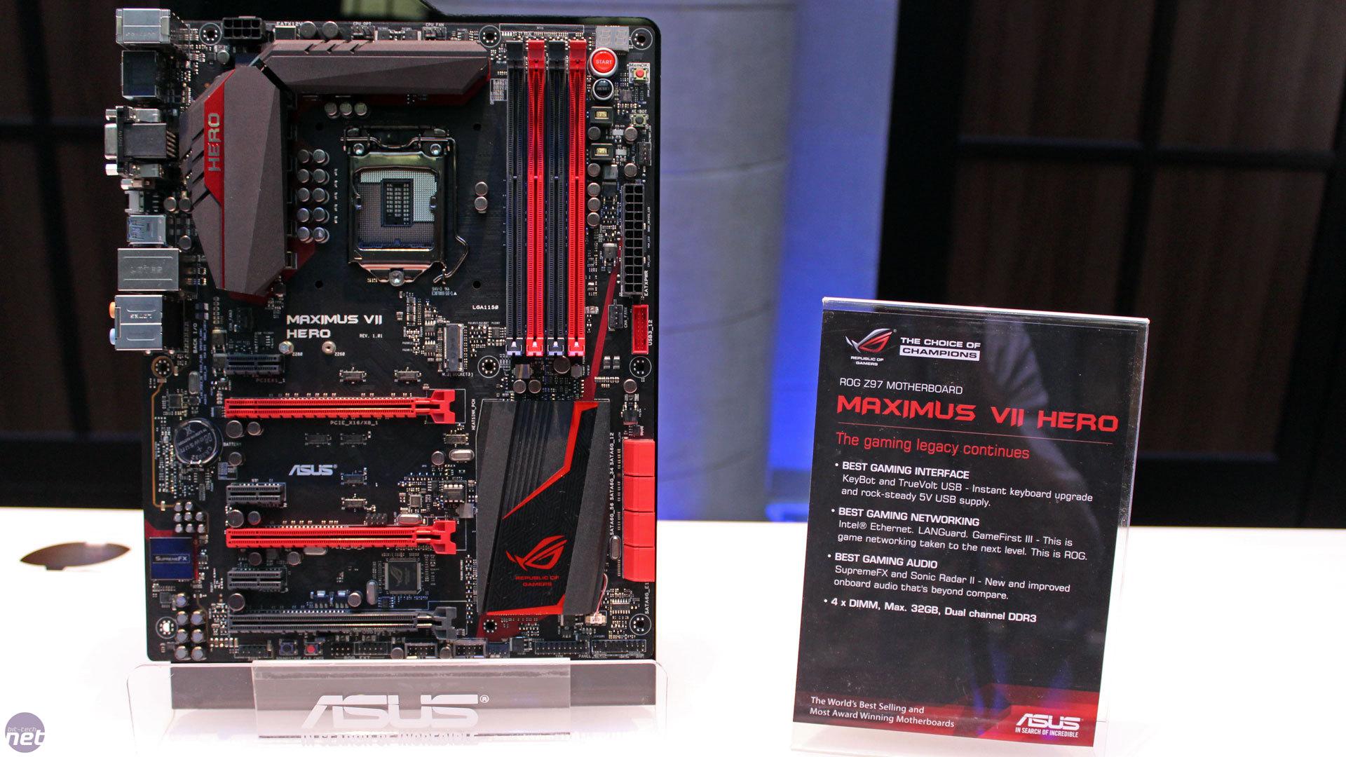 ASUS Z97 Motherboards Preview | bit-tech net