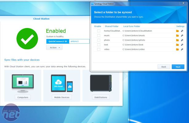 Synology DS214SE NAS Box Review Synology DS214SE NAS Box Review - Operating System and Features