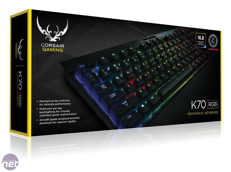 Corsair Gaming K70 RGB Review | bit-tech net