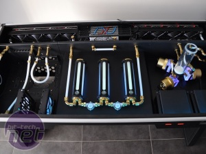 Mod of the Month September 2014 in association with Corsair My Cross Desk build with Gold Theme by Akuma2000