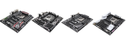 X99 Motherboard Group Test: Asus, EVGA, Gigabyte and MSI