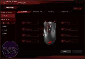 Asus ROG Gladius Review Asus ROG Gladius Review - Software, Performance and Conclusion