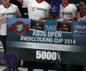 *Asus Open Overclocking Cup 2014 Final - Summary and Interviews [WEDNESDAY] Asus Open Overclocking Cup 2014 Final - Summary and Interviews
