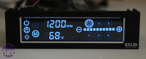 Gelid SpeedTouch 6 Fan Controller Review