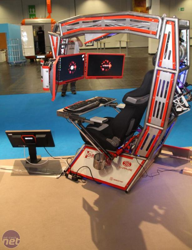 *Bit-tech Mod of the Year 2014 In Association With Corsair BenChair by Ironknocker