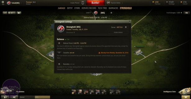 *Gearing Up for Esports: World of Tanks Strongholds  Gearing Up for Esports: World of Tanks Strongholds