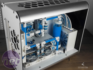 Bit-tech Modding Update - January 2015 in association with Corsair  Icy Blue Angel II by snef