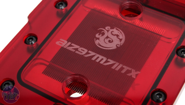 *Bitspower AIZ97M7IITX Maximus VII Impact Waterblock Review Bitspower AIZ97M7IITX - Results, Performance Analysis and Conclusion