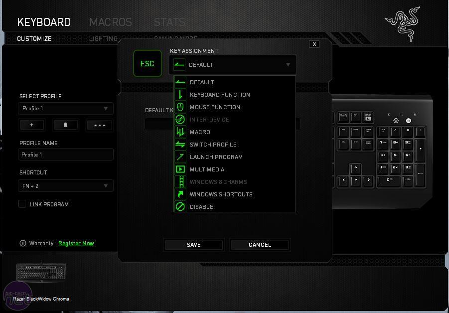 Razer BlackWidow Chroma Review | bit-tech net