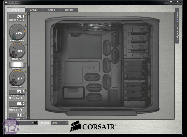 Corsair H110i GT Review Corsair H110i GT Review - Software and Specifications