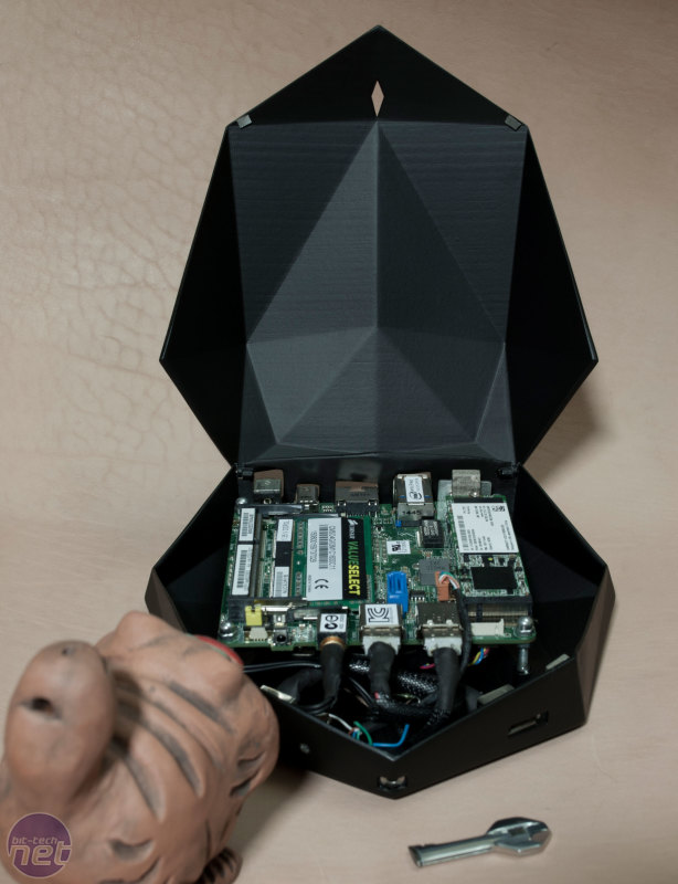 Intel NUC Case Design Competition 2014: The Finished Projects Black Heart by Denis Shuvaev