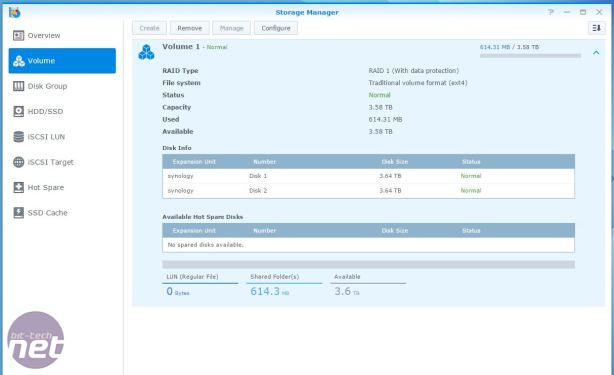 Synology DS715 Review Synology DS715 Review - Operating System and Features