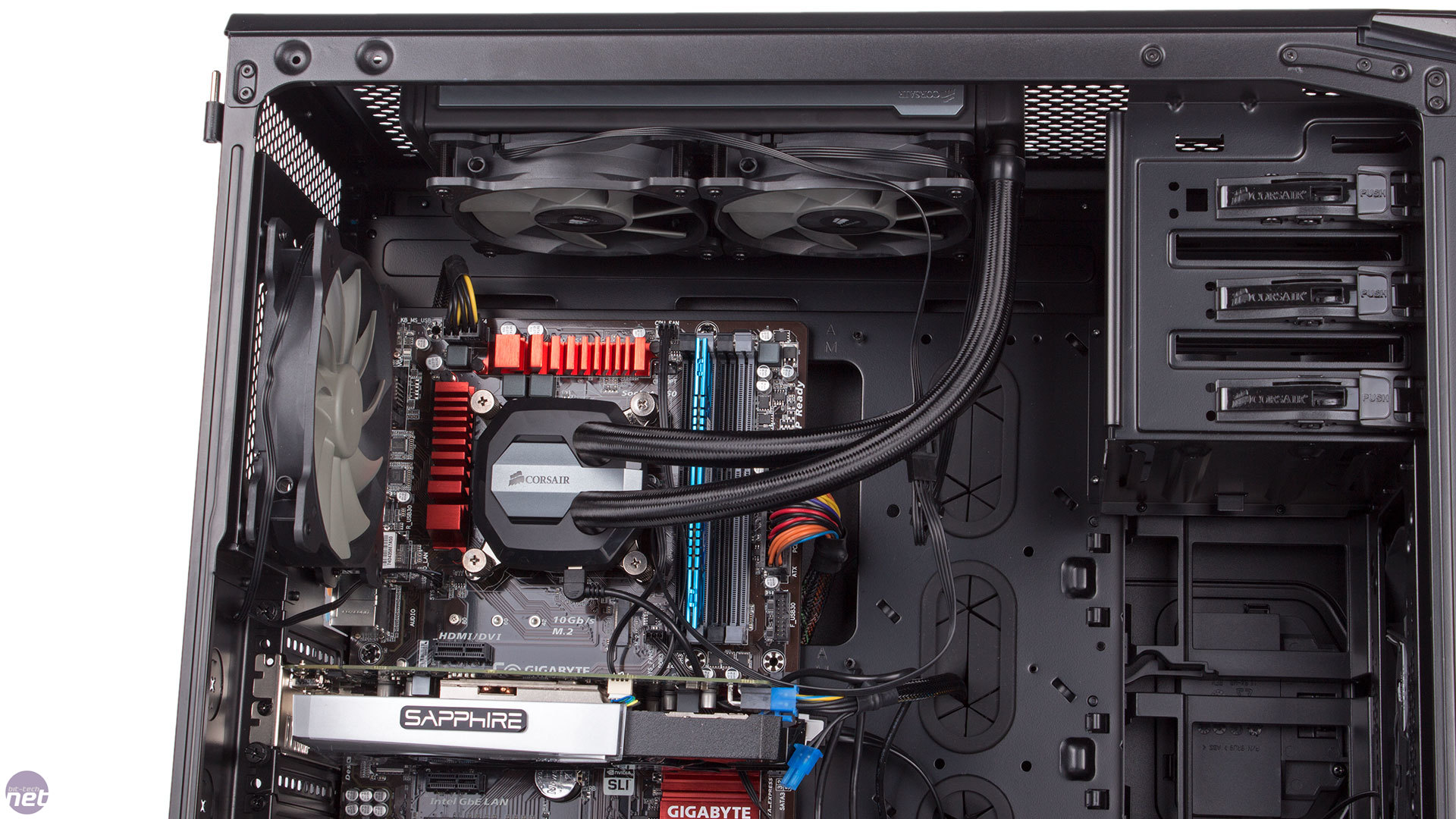 Corsair Hydro Series H80i GT and H100i GTX Reviews | bit ...