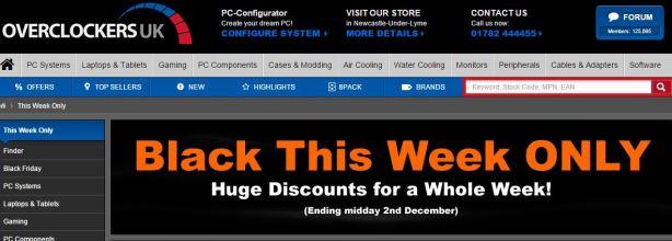 UK Black Friday Tech Deal Roundup