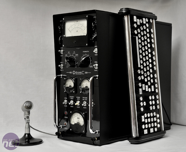 Bit-tech Mod of the Year 2015 In Association With Corsair Felix: Old Soviet computer by BootSector