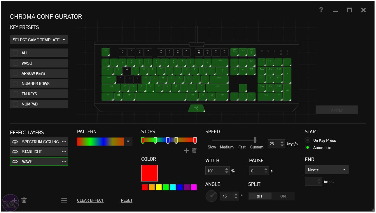 Razer BlackWidow X Chroma Review   bit-tech net