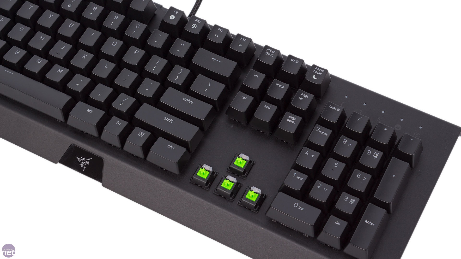 Razer Blackwidow X Chroma Review Keyboard Te Performance Software And Conclusion Click To Enlarge