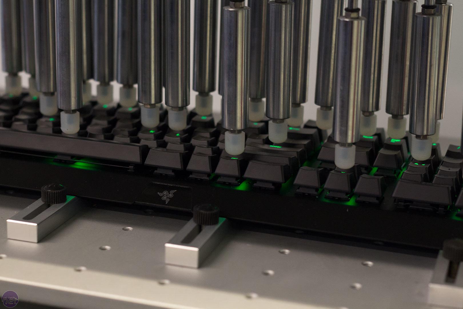 Razer reveals BlackWidow X, improved switches and Cherry MX models