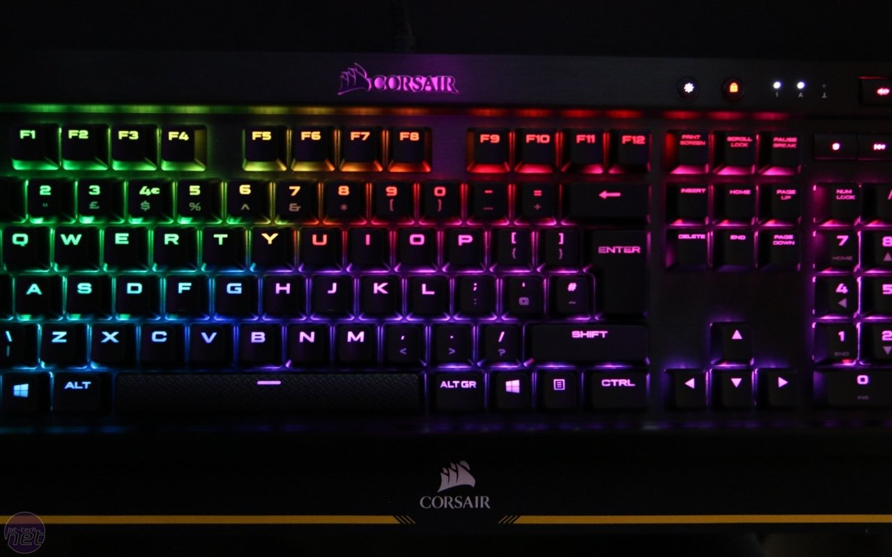 k70 how to set color effect in each key