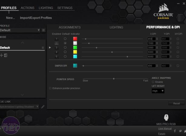 Corsair Gaming M65 Pro RGB Review Corsair Gaming M65 Pro RGB Review