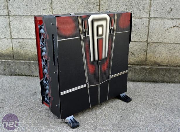 Mod of the Month May 2016 in Association with Corsair Thermaltake CoreP 5 ANT-MAN by Ronnie Hara