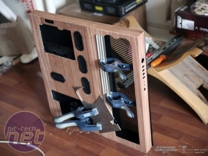 Bit-tech Case Modding Update - May 2016 in Association with Corsair Natural Desk by Seinron