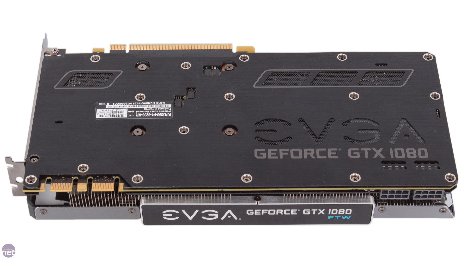 EVGA GeForce GTX 1080 FTW Review | bit-tech net