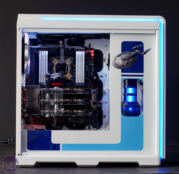 Mod of the Month June 2016 in Association with Corsair Phanteks Enthoo Luxe Star Trek by mnpctech