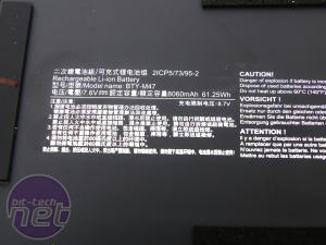 MSI GS43VR Phantom Pro Review MSI GS43VR Phantom Pro Review - Interior
