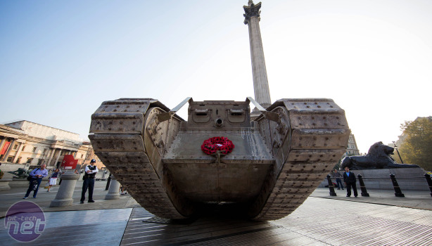 Wargaming Drives a Tank into Trafalgar Square