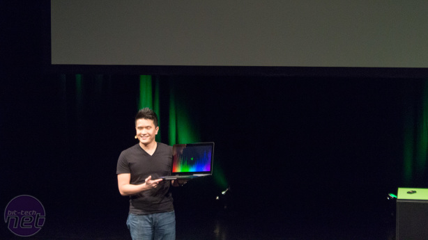 Razer Keynote: Blade Notebooks come to Europe Razer Keynote: The New Razer Blade Pro