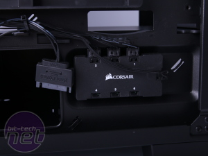 Corsair Crystal Series 460X RGB Review Corsair Crystal Series 460X RGB Review - Interior