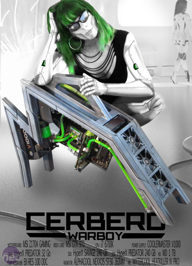 Mod of the Month October 2016 in Association with Corsair CERBERO AK by warboy