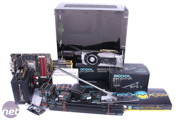 Nanoxia Project S Water-Cooling Build: Part One