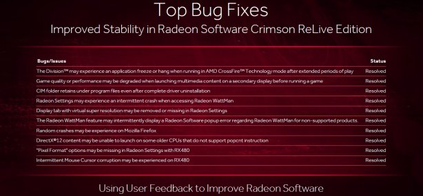 AMD Releases Radeon Software Crimson ReLive
