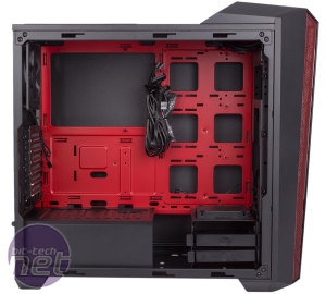 Cooler Master MasterBox 5t Review Cooler Master MasterBox 5t Review - Interior