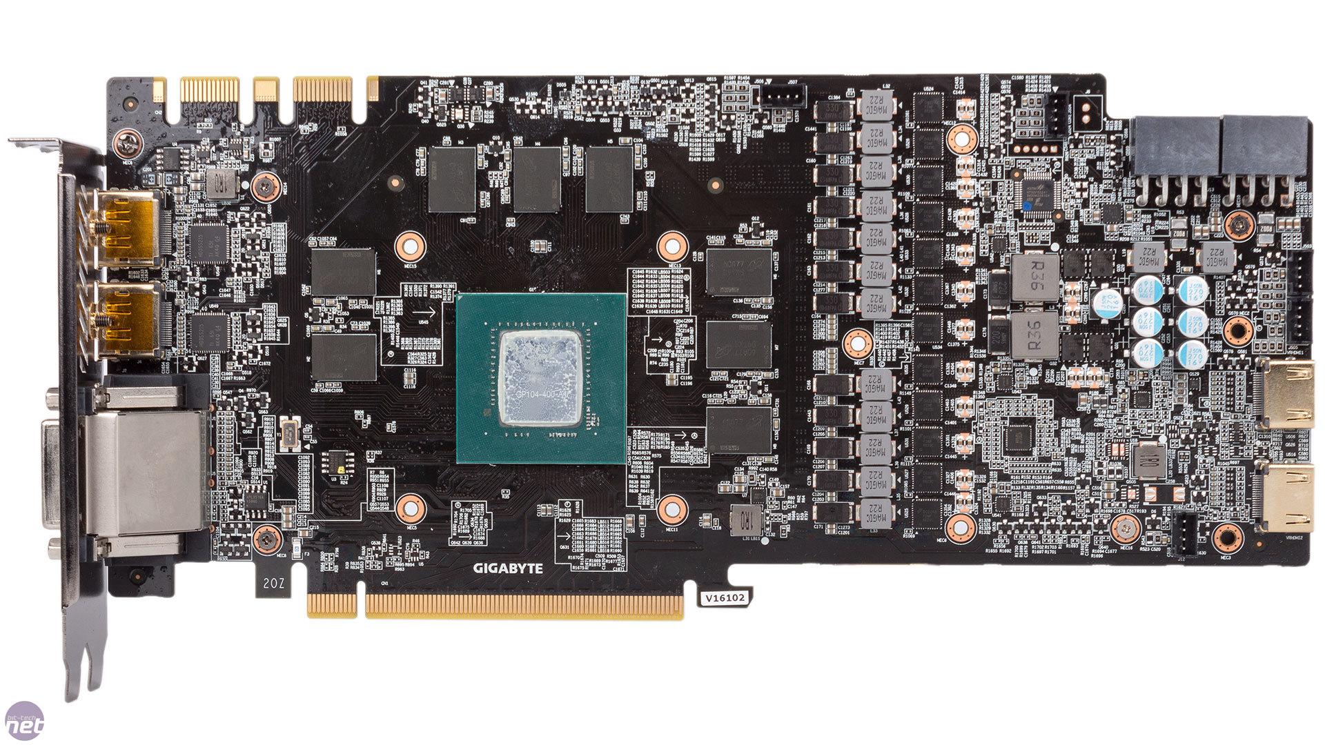 Gigabyte GeForce GTX 1080 Xtreme Gaming Waterforce WB ...