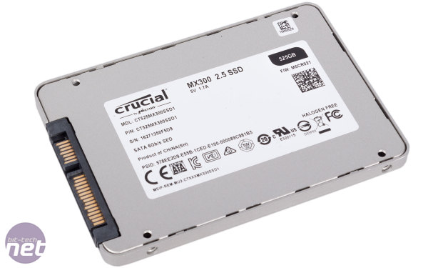 Crucial MX300 and MX300 M.2 Reviews (525GB & 1TB)