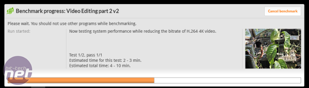 Gigabyte Aorus Z270X-Gaming 7 Review Gigabyte Aorus Z270X-Gaming 7 Review - PCMark 8 Video Editing and Photo Editing