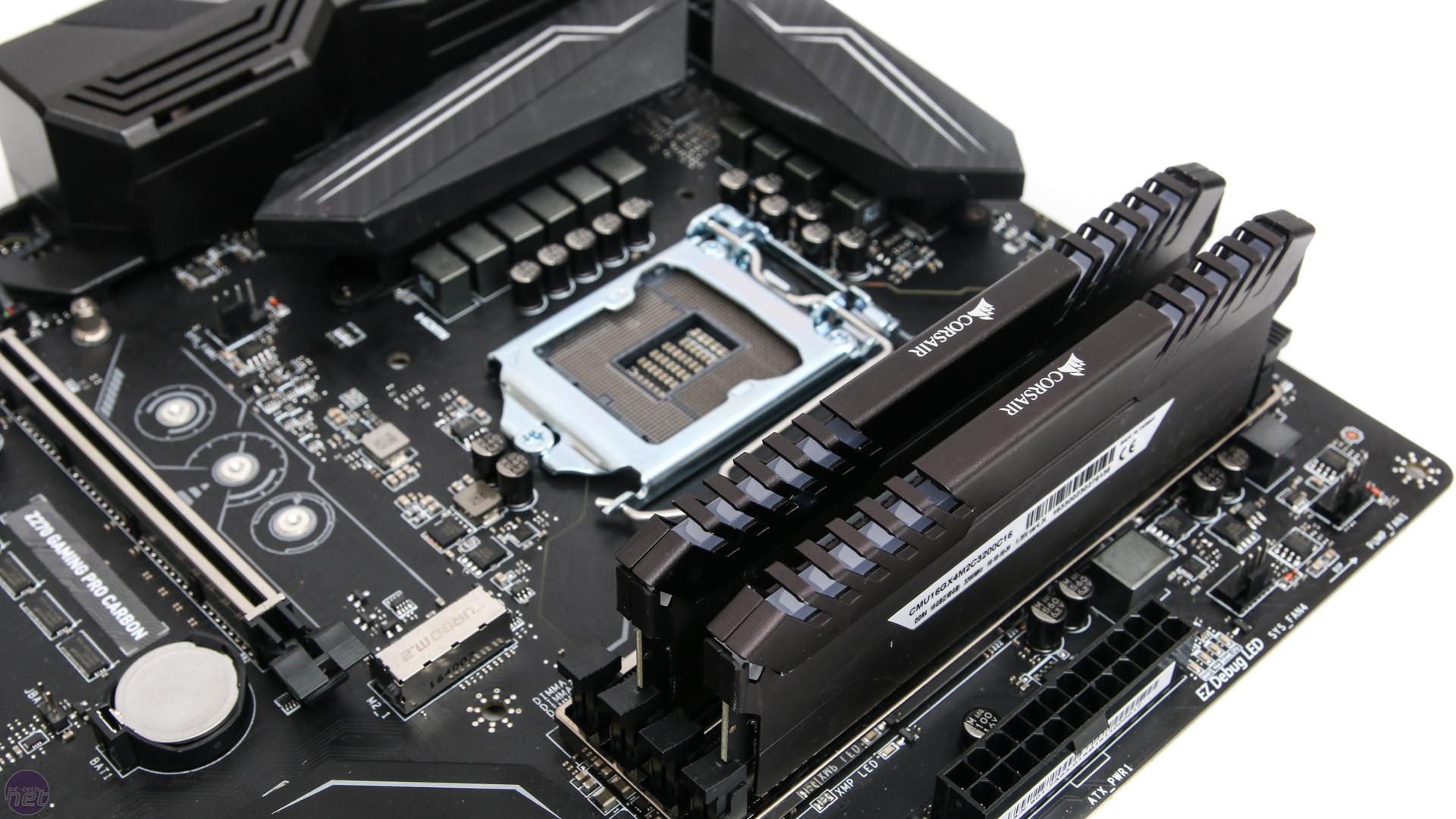 MSI Z270 Gaming Pro Carbon Review   bit-tech net