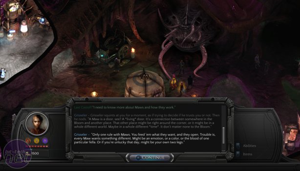 Torment: Tides of Numenera: Q&A and Hands-On Preview Torment: Tides of Numenera Interview
