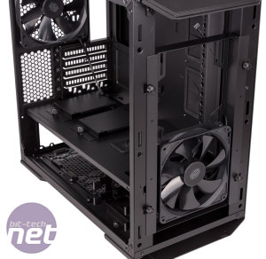 Cooler Master MasterCase Pro 3 Review Cooler Master MasterCase Pro 3 Review - Interior