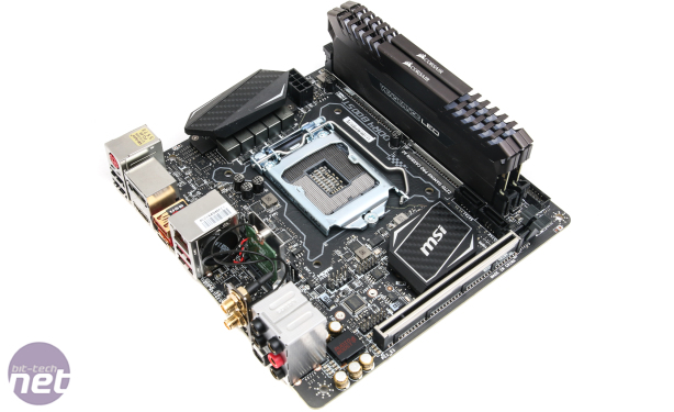 MSI Z270I Gaming Pro Carbon AC Review MSI Z270I Gaming Pro Carbon AC Review - Test Setup