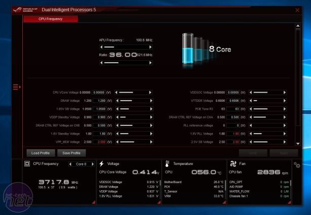 Asus Crosshair VI Hero Review Asus Crosshair VI Hero Review - Overclocking, Software, and EFI