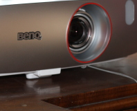 BenQ W1210ST short-throw gaming projector