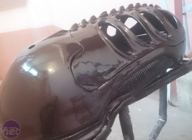 Cooler Master Case Mod World Series 2017 Scratch Builds Project ALIEN by Igor Below